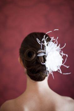 Hair piece perfection. Photography by lisawisemanweddings.com