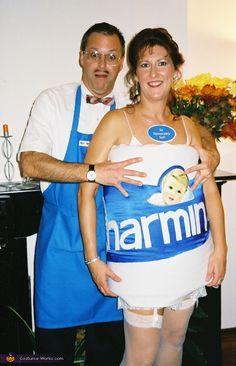 Charmin & Mr Whipple - Halloween Costume Contest via @costumeworks