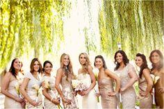 mix & match bridesmaids dresses