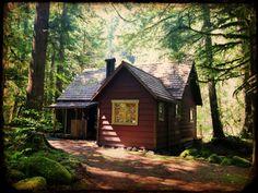 Cabin on Mt. Hood nearZig Zag,Oregon.