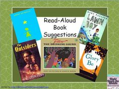 Read Aloud Book Suggestions