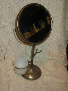 Victorian Mens Shaving Mirror