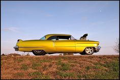 """""""Badillac"""" - 1956 Cadillac Coupe Deville Pro Street 468/850 HP, SEMA Show Car. This car crosses so many boundaries, I don't know exactly which board to pin it to!"""
