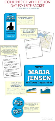 Election Day Pollsite Packet   Candidate Project