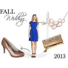 """""""Fall Wedding Guest Attire"""" by amymargaretc on Polyvore"""