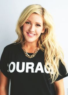 Love her style. Knows how to mix Couture and street. Flawless.  Ellie Goulding