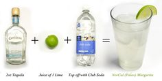 A Nor Cal Margarita is low-carb, no-sugar skinny drink that wont add rolls to your belly.