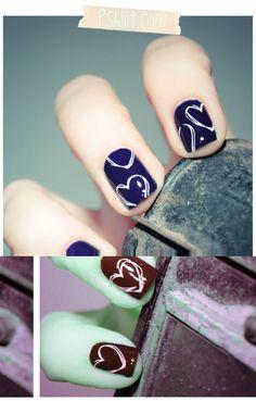 Heart nails!