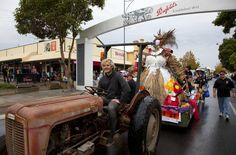 Vintage Festival Parade. Barossa Vintage Festival.