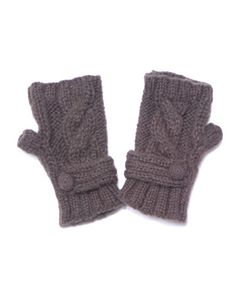 for a chilly girl....a cute pair of wrist warmers