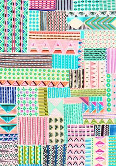 handmade patterns by Anna Niestroj aka  Blink  Blink http://blinkblink-blinkblink.blogspot.com http://www.flickr.com/photos/anmanie/sets/72157625782787026/