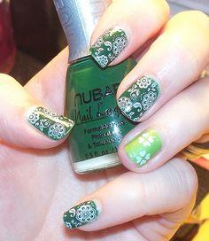St. Patrick's Day Nails~