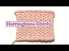 Fancy Stitch Combos - Herringbone Stitch