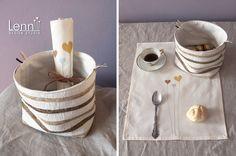 baskets and napkin