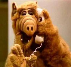 Alf....watched it every monday night with my dad ♥
