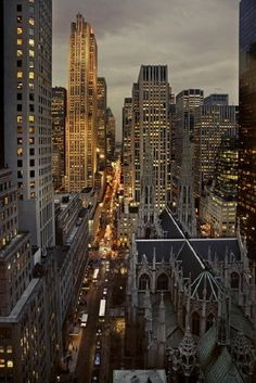 5th Avenue view from the New York Palace Hotel