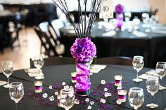 The Homemade Center Pieces I'm Still In LOVE with these's <3
