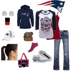 Outfit -- New England Patriots