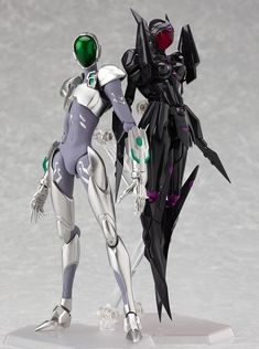 Silver Crow and Black Lotus from Accel World