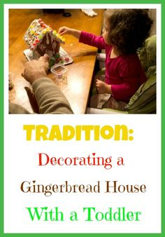 {Christmas Tradition} Gingerbread House