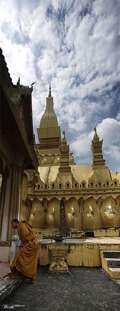 That Luang, Vientianne, Laos #asean #travel #tourism #holiday #temple #culture #education #learning #spiritual