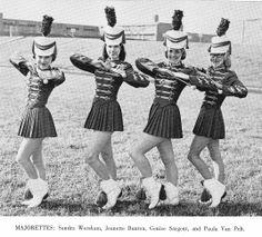 1963 Eastern Hills High School EHHS Highlanders: Highlander Majorettes
