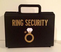 Ring Security, Ringbearer gift, Ring Agent, Ring bearer, Ring bearer on Etsy, $14.95