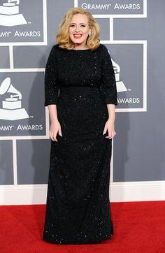 Adele no Grammy 2012.