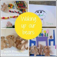 Waking up our bears by Teach Preschool
