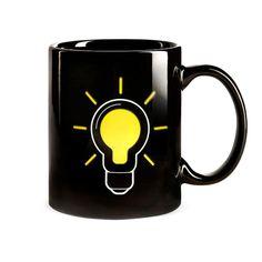 Thermokruzhkus Lightbulb Mug - temperature sensitive coffee mug.