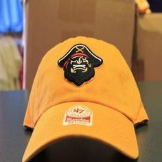 47' Fitted Primary Logo Front, Maruaders Back-Gold