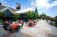 Take advantage of a beautiful outdoor space at your next event.