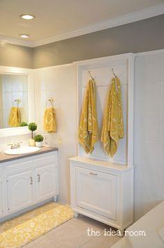 Build a Customized Towel Rack via Amy Huntley (The Idea Room)