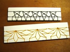 Stars and Maple Leaves Japanese stab bindings by Becca Making Faces