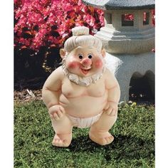 Sumo Gnome  Far East Garden Fighters Gnome 19.95