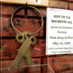 Mayberry Keys to jail