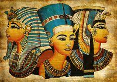 Egyptian Art, King Tutankhamun, Nefertiti, and Cleopatra