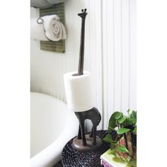 Giraffe Toilet Paper Holder » HA!