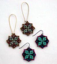 Super Duos Mandala Earrings