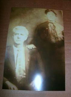 John Dulaney (Irish) and his wife, Rebecca Dulaney (Cherokee/Irish) - no date