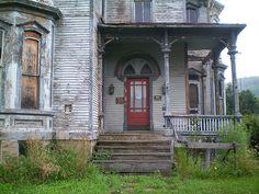The F. W. Knox Mansion / Old Hickory Hotel & Tavern. Coudersport, PA, July 26, 2009. by lblanchard, via Flickr fantasi write, urban ruin, creativ inspir, coudersport pa