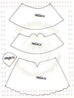 El Rincon Fofuchero: Accesorios:Vestidos y polleras