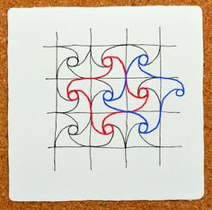 Well (a new tangle!)