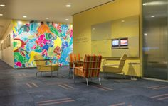 Consolidated Carpet Installation of @Mohawk Group at Time Warner Headquarters, NYC