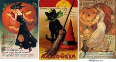 Gothic Halloween Cards