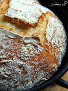 Jedozovni duo: Kruh koji se ne mijesi - No knead bread