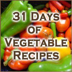 Vegetable Recipes - daniellelackey.com