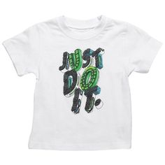 Nike Boys 2T-4T White Just Do It Tee Shirt