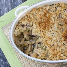 Grown-up Tuna Casserole (doesn't use canned soups)