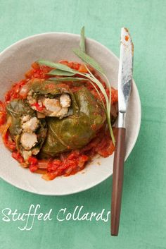 Stuffed Collard Gree